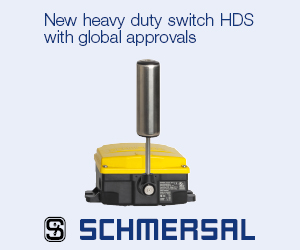 New heavy duty switch HDS with global approvals - Schmersal