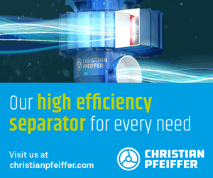 Our high efficiency separator for every need - Christian Pfeiffer