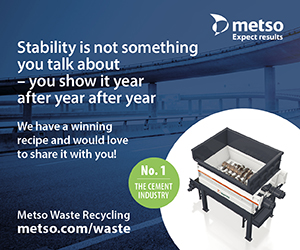 Stability is not something you talk about - you show it year after year after year - We have a winning recipe and would love to share it with you! Metso Waste Recycling - metso.com/waste