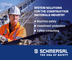 System solutions for the construction materials industry - Schmersal: the DNA of Safety