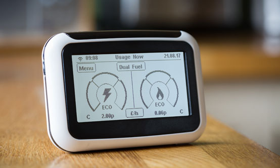 Figure 1: A smart meter. So far rollout has only been completed by four Member States: Italy, Estonia, Sweden and Finland.