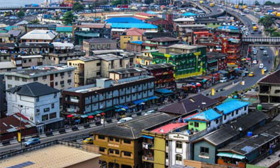 Lagos, Nigeria is the largest city in West Africa with 21 million inhabitants in 2017. Source: Shutterstock.com.
