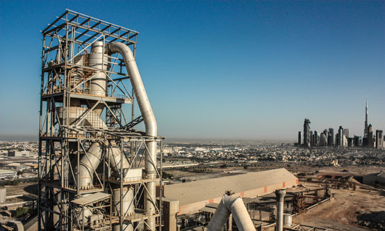 National Cement's integrated cement plant in Dubai, UAE. Source: Kritish Shetty, entrant into the Global Cement Photography Competition.