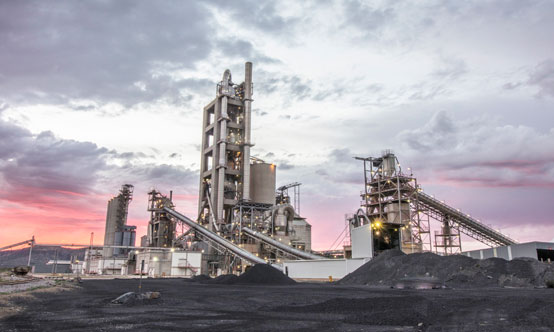 The Ohorongo Cement plant in Namibia produced its first clinker in November 2010.