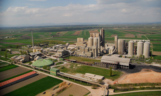 The Lafarge  Mannersdorf plant is a site  with 110 years of  history. Today it is one of the most environmentally-conscious cement plants in Europe.