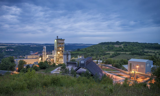 HeidelbergCement's  Lengfurt cement plant in Bavaria, Germany was the company's top alternative fuels user in 2015.