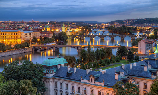 Figure 1: Prague is the capital city and the largest in the Czech Republic. It is home to around 1.24 million people and has the lowest unemployment rate in the European Union.