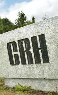 CRH increases nine-month earnings as sales fall