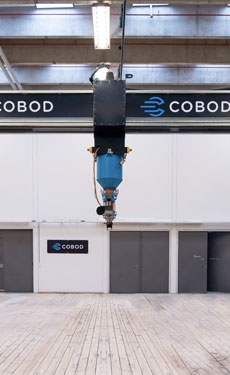 COBOD supplies BOD2 3D printer to first 3D printed commercial apartment building
